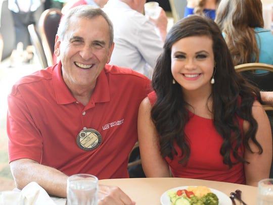 David Watlington and Miss Decatur County Callie Compton