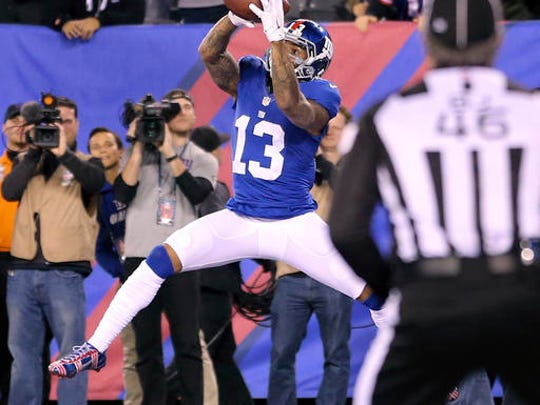 Giants wide receiver Odell Beckham Jr., signed a contract earlier this week that will guarantee him $65 million over the next five years.