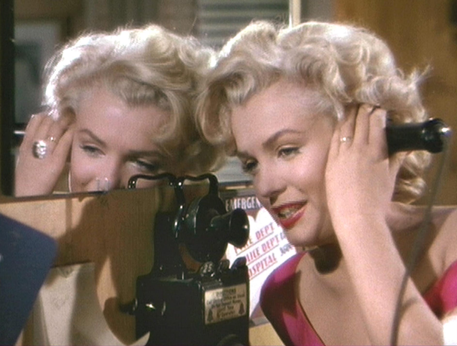 "Marilyn Monroe in a scene from the 1953 motion picture ""Niagara."""
