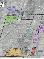 Area studied for Henrietta's Draft Environmental Impact