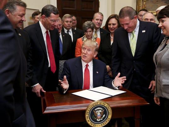President Trump Signs Executive Order Rolling Back Environmental Regulation