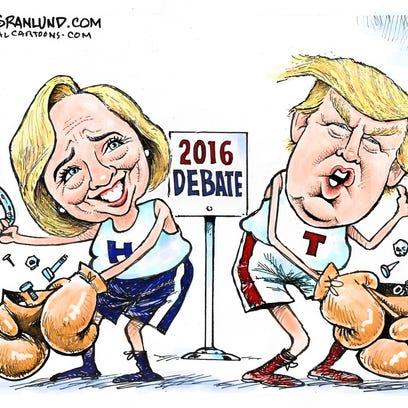 Today's cartoon: The Great Debate