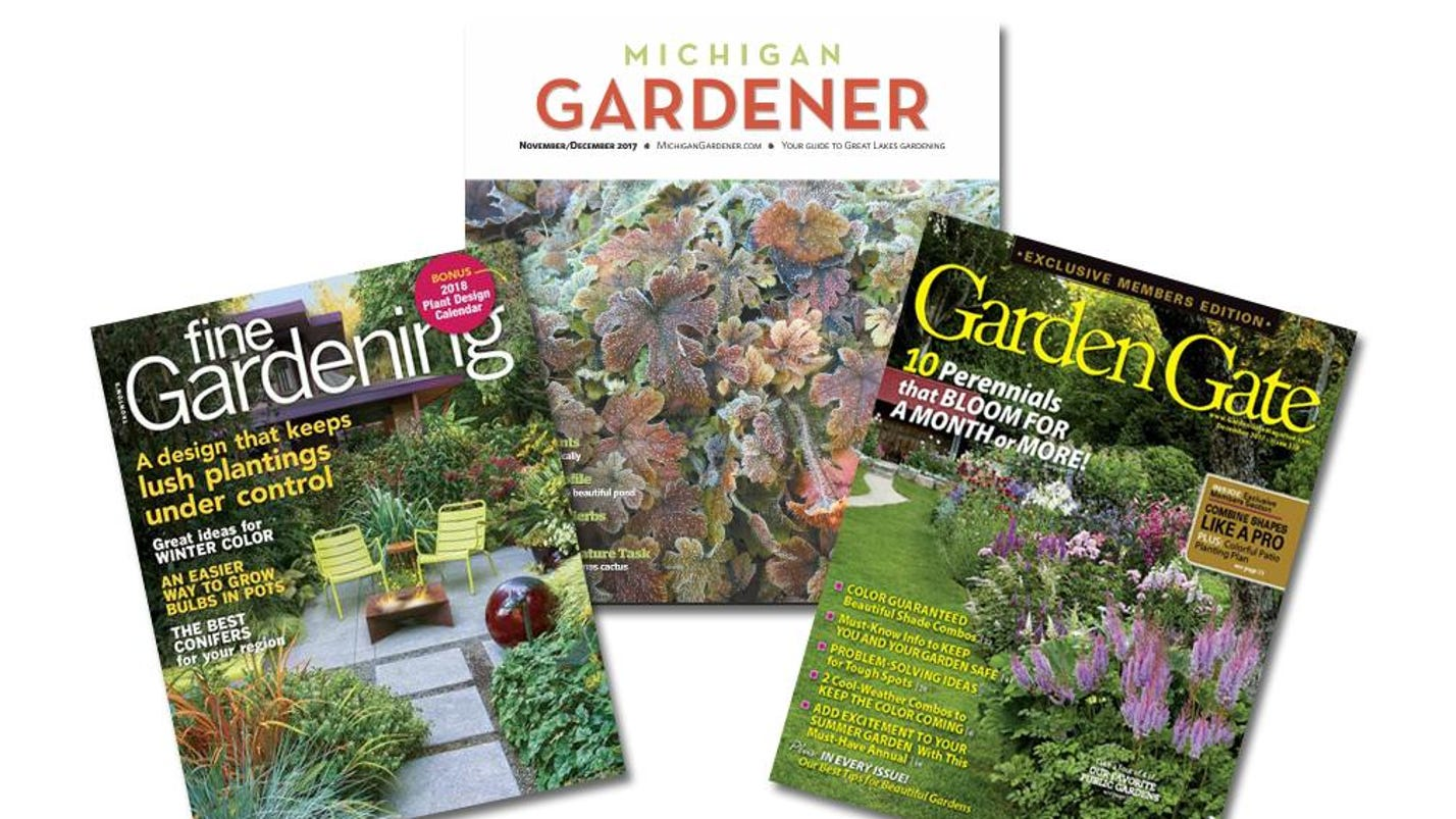 Gardening: Magazines fit nicely into holiday gift list