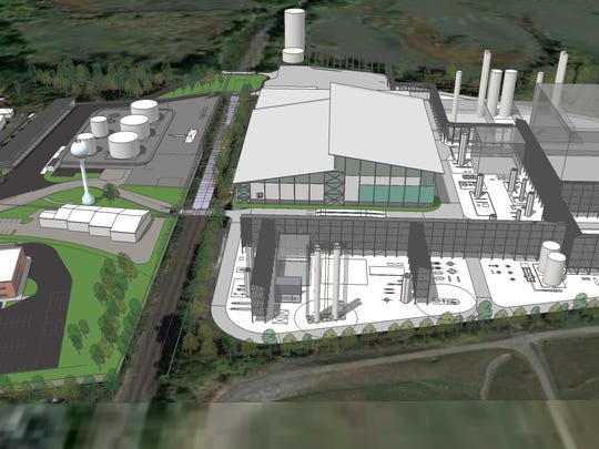 A rendering of New Planet Energy's proposed recycling