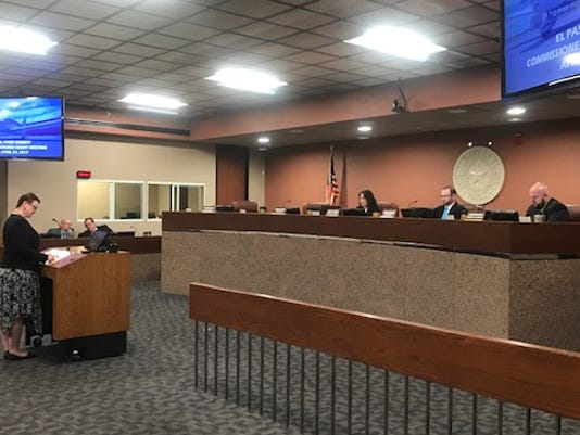El Paso Commissioners Court