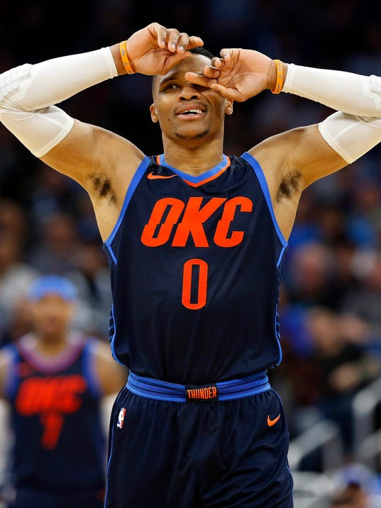 USP NBA: OKLAHOMA CITY THUNDER AT ORLANDO MAGIC S BKN ORL OKC USA FL