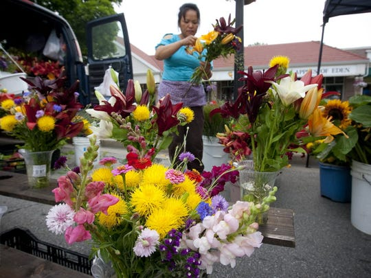 The Greendale Downtown Market is open from 8 a.m. to