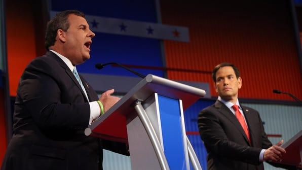 Chris Christie, Marco Rubio