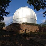 The planetarium at Roper Mountain Science Center is temporarily closed.