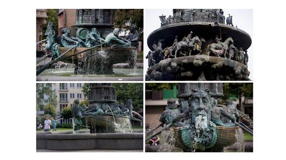 Koblenz' History Column.