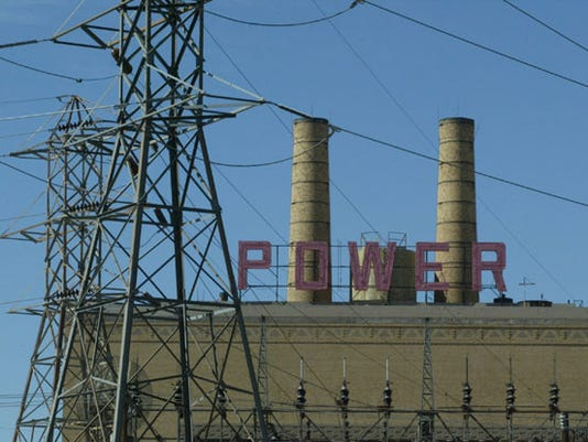 El Paso Electric's Rio Grande Power Plant near Doniphan Drive.