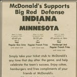 That time Bob Knight helped Indiana basketball fans win free McDonald's 43 years ago