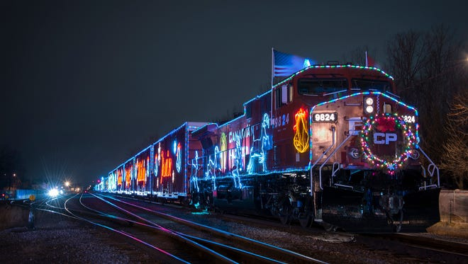Canadian Pacific Holiday Train arrives on Monday