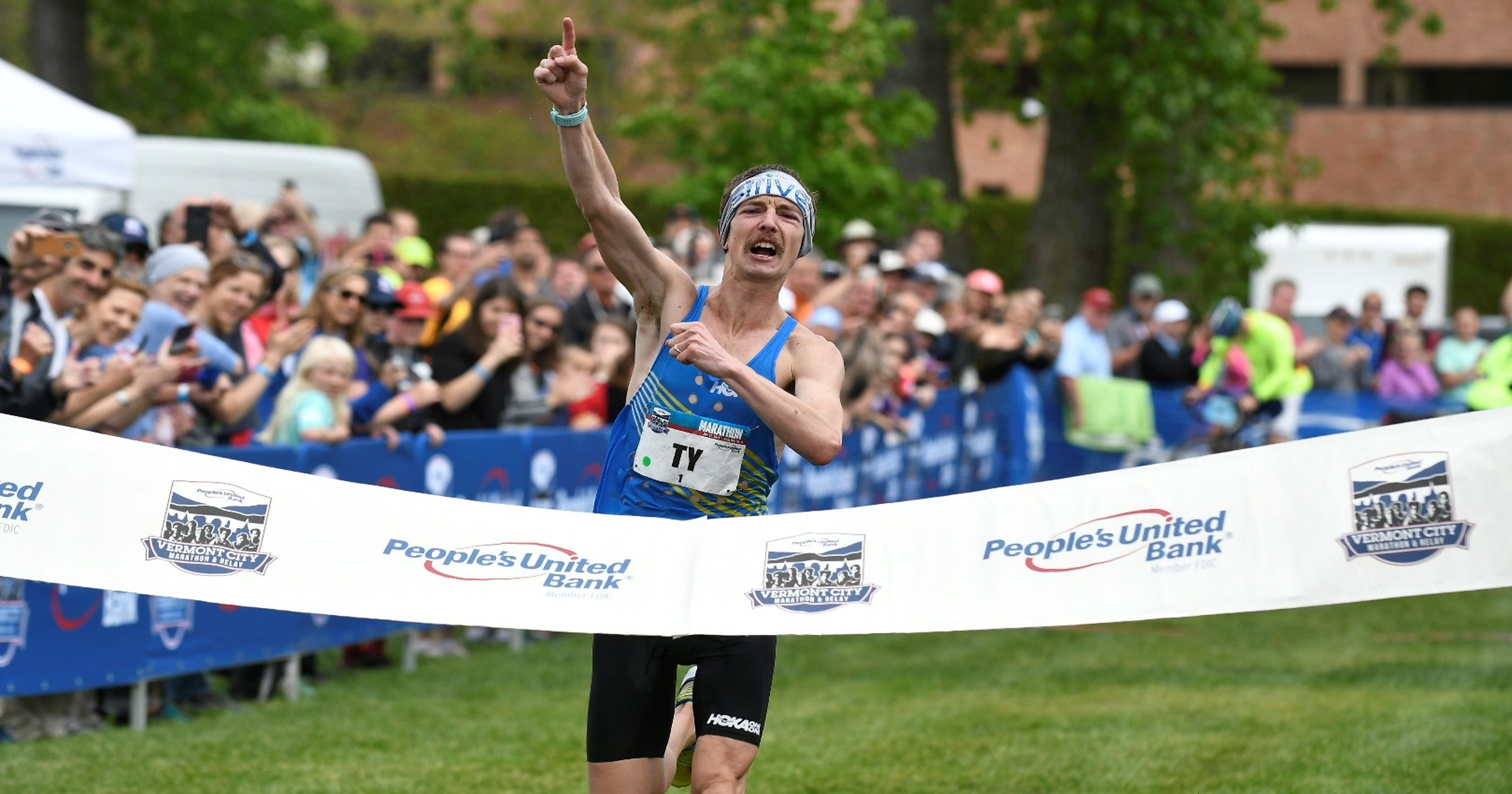 Andrews runs second-fastest time in Vermont City Marathon history