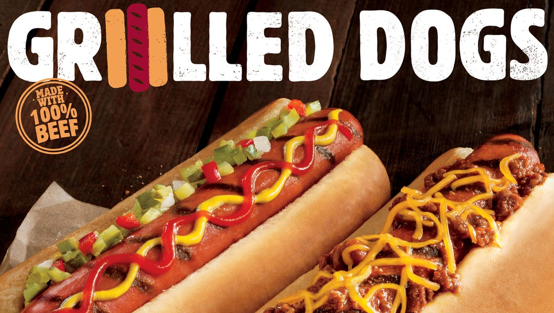 Burger King launching grilled hot dogs this month