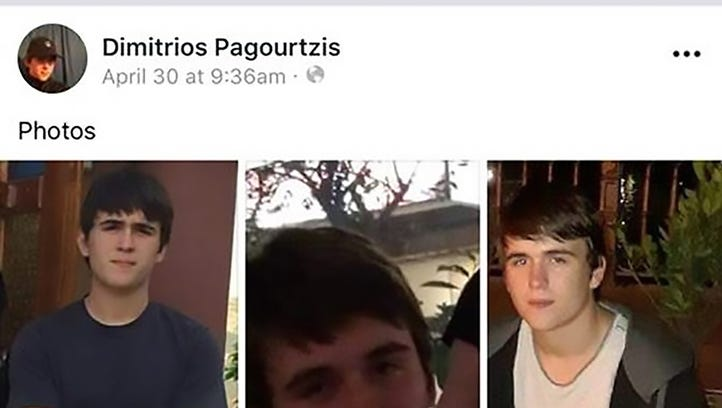 A screenshot is shown from the Facebook social media