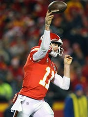 Kansas City's Alex Smith has been a hot topic in regards to his possibly being acquired by the Bills this offseason.