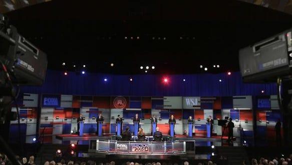 GOP debate Thursday! (It seems like we JUST had one