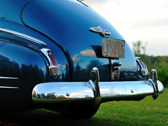 A young 2nd Lt. Gordon H. Sterling Jr., drove this 1941 Buick Special to work on a Sunday morning 75 years ago, only to die in a dogfight over the waters of Pearl Harbor.  It is now owned by John Michalek, 35, of Plymouth.