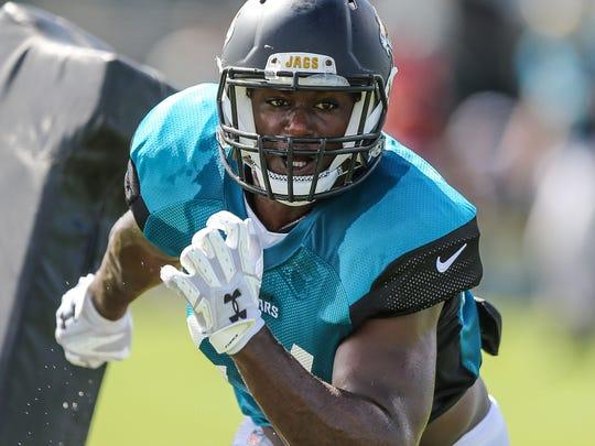 Jacksonville Jaguars linebacker Myles Jack