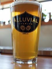 A cold brew at Alluvial.