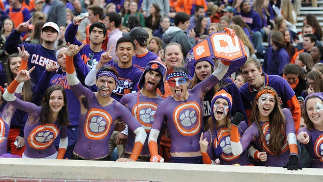 Clemson plays Wake Forest Saturday, November 21, 2015 at Clemson's Memorial Stadium.