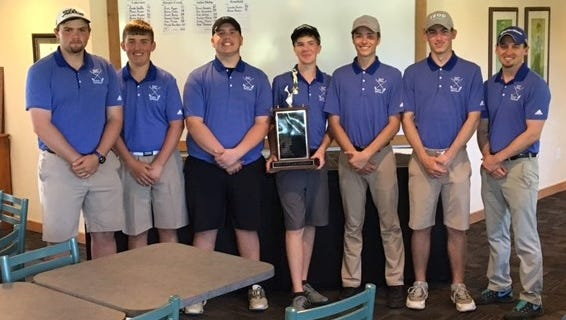 Harper Creek finished first at the All-City Boys Golf Tournament.