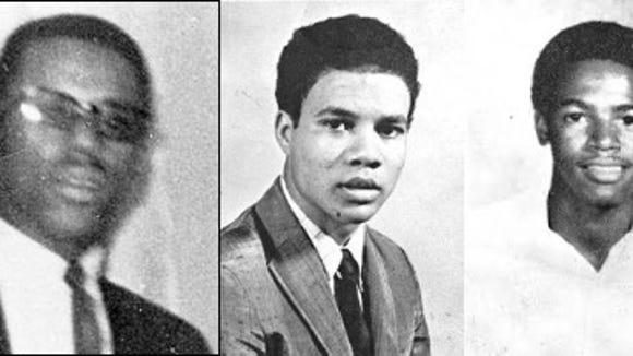 A law enforcement officer shot Ben Brown in the back on the Jackson State University campus on May 12, 1967. Phillip Gibbs, a junior at JSU and James Green, a senior at Jackson's Jim Hill High School, were shot down by law enforcement officers on May 15, 1970, when they sprayed the campus with bullets.