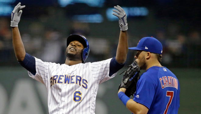 Lorenzo Cain returned to the starting lineup for the Brewers on Friday night against the New York Mets.