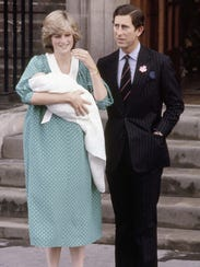 Britain's Prince Charles, Prince of Wales, with his