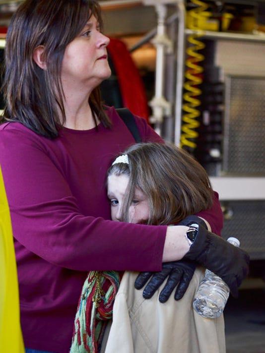 Sandy Hook Elementary School shooting in Newtown CT December 14, 2012 (http://mediacenter.ydr.com)