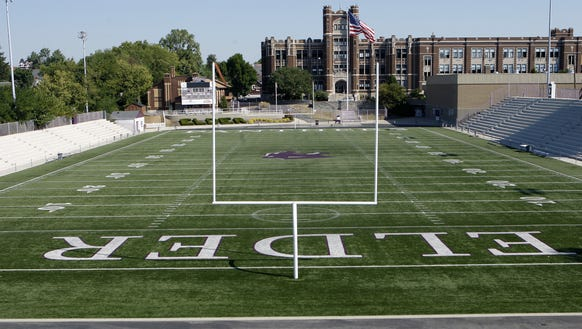 "Elder Stadium, or as it's commonly known, ""The Pit."""