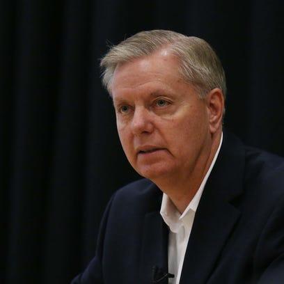 Presidential hopeful and South Carolina senator, Lindsey