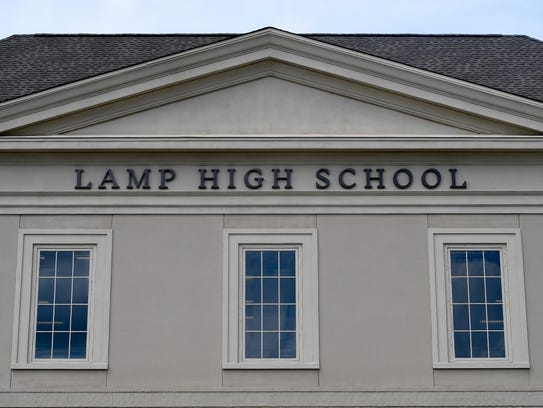 The new LAMP High School in Montgomery, Ala. on Thursday