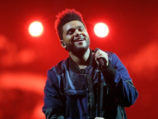 The Weeknd performs at Philips Arena on May 13 in Atlanta.