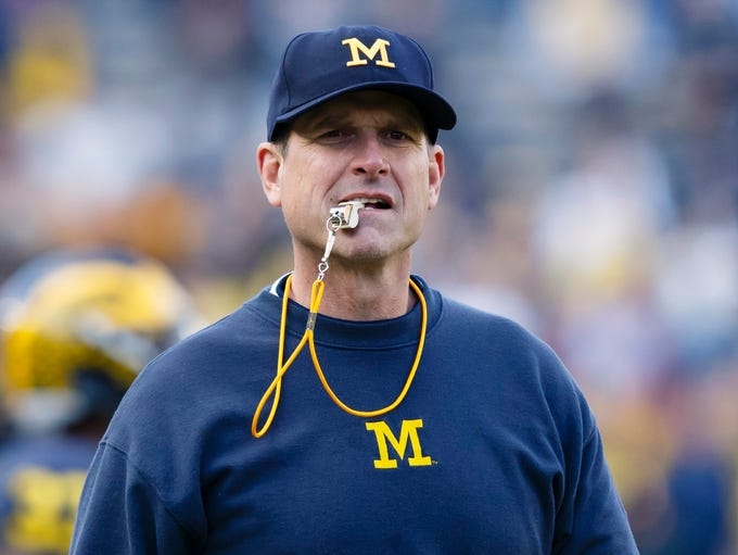 Michigan Wolverines head coach Jim Harbaugh - $9,004,000.