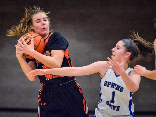 York Suburban at Spring Grove girls' basketball