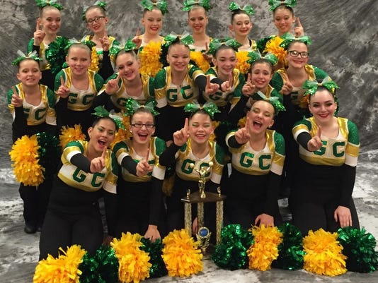 garden city pom earns middle school state title - Garden City Middle School