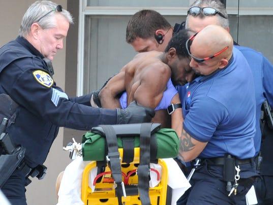 Wichita Falls police assaulted