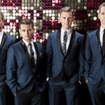 """The Midtown Men (from left) Christian Hoff, Michael Longoria, Daniel Reichard, and J. Robert Spencer, were members of the original Broadway cast of """"Jersey Boys."""" The will perform Saturday at Paragon Casino Resort in Marksville."""