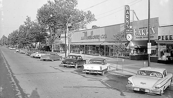 A view of 600 block of Landis Avenue as it looked in 1958.