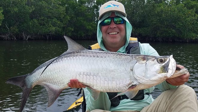 Capt. Alex Gorichky of Local Lines charters said it's time for juvenile tarpon in the backcountry.
