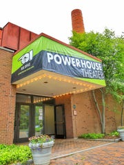 The entrance to Powerhouse Theater at Vassar College in the Town of Poughkeepsie.