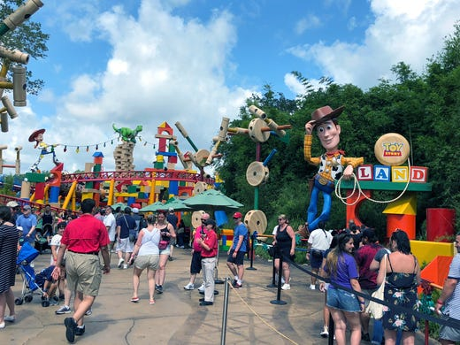 acbc389dc1 Andy s backyard comes alive in Disney World s Toy Story Land