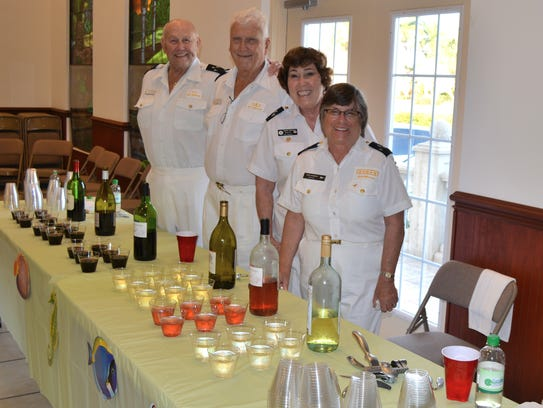 The Power Squad's club's annual fundraiser, the Wine