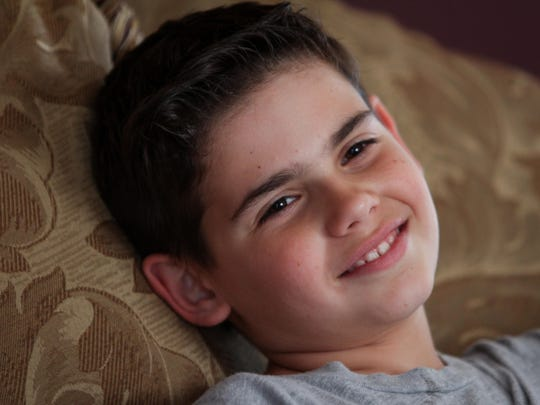 "Donovan Marra, 9, of Howell talks about his sister Gwendelyn ""Gwennie"" Marra."