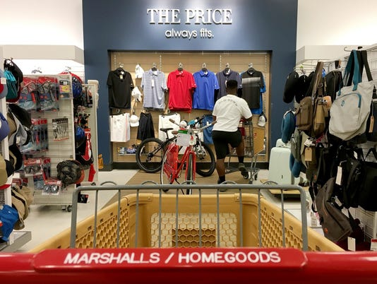 Marshalls, Home Goods, TJX Cos.