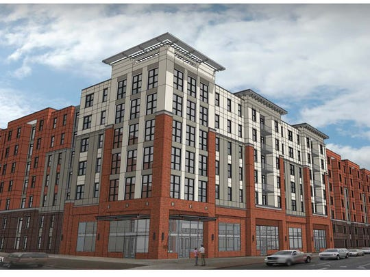 Early rendering of The Standard At Reno. Final project is subject to change.