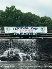 Many years ago Festival Days was just Festival Day, as illustrated in this original sign.