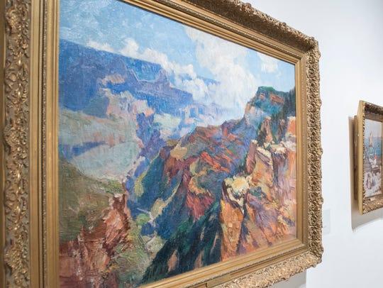 """Artist Bertha Sophia Menzler Peyton's """"Grand Canyon"""""""